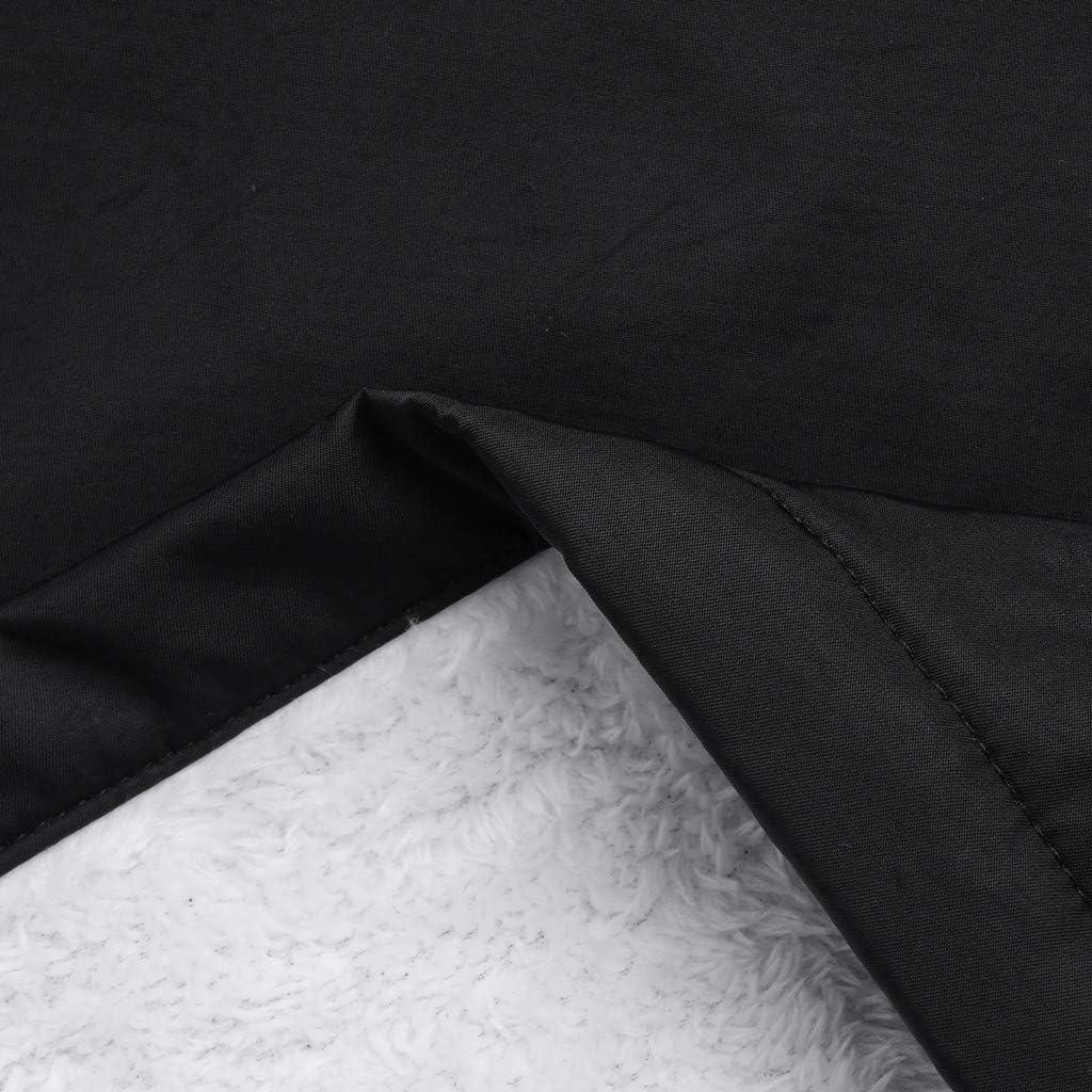 Lulupi Damen Regenjacke Gef/üttert Winddichte Wasserdicht Jacke Dicke Regenmantel mit Kapuze Outdoorjacke Windjacke Gro/ße Gr/ö/ßen Parka Outwear Coat