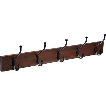 5 Iron Coat Hooks Hat Iron Rack Tree Restoration Double Long Storage Lot Closet