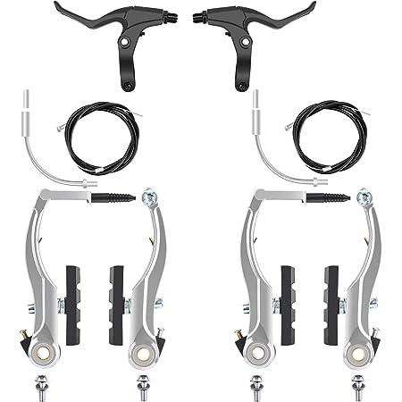 Fahrrad V-Brake Bremsen Set Bremskörper für vorne und hinten BMX MTB Bremsanlage