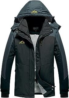 Spmor Women's Waterproof Ski Jacket Mountain Rain Coat Windproof Skin Hooded Jacket