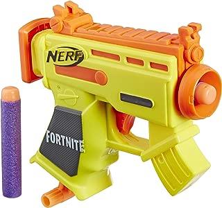 NERF Fortnite Micro AR-L Microshots Dart-Firing Toy Blaster & 2 Official Elite Darts for Kids, Teens, Adults