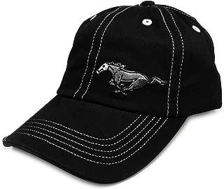 Mustang Running Horse Black Baseball Hat