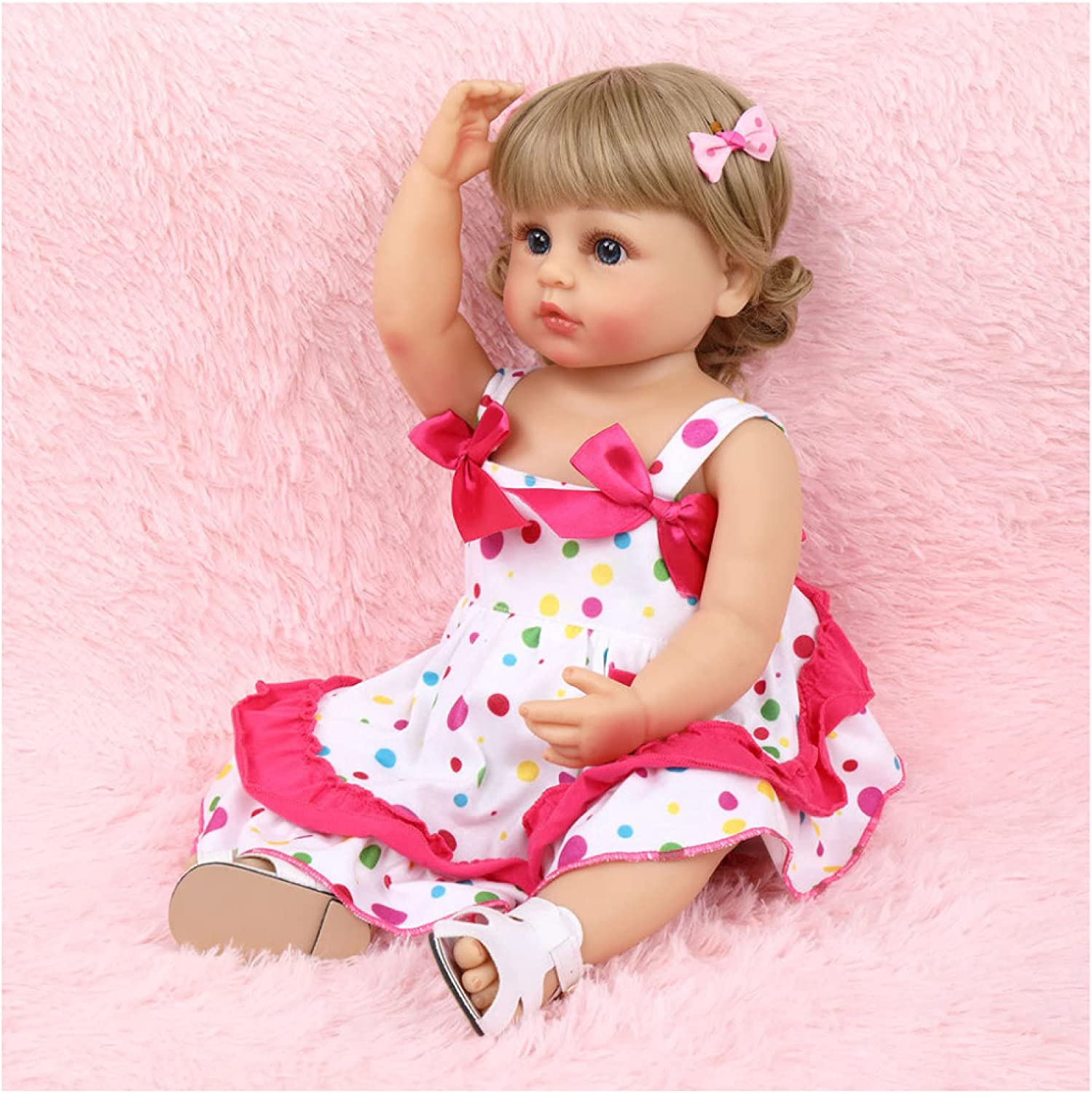 YANRU Baby Doll 55cm Real Mail order Realistic - PVC Free Max 46% OFF Silico