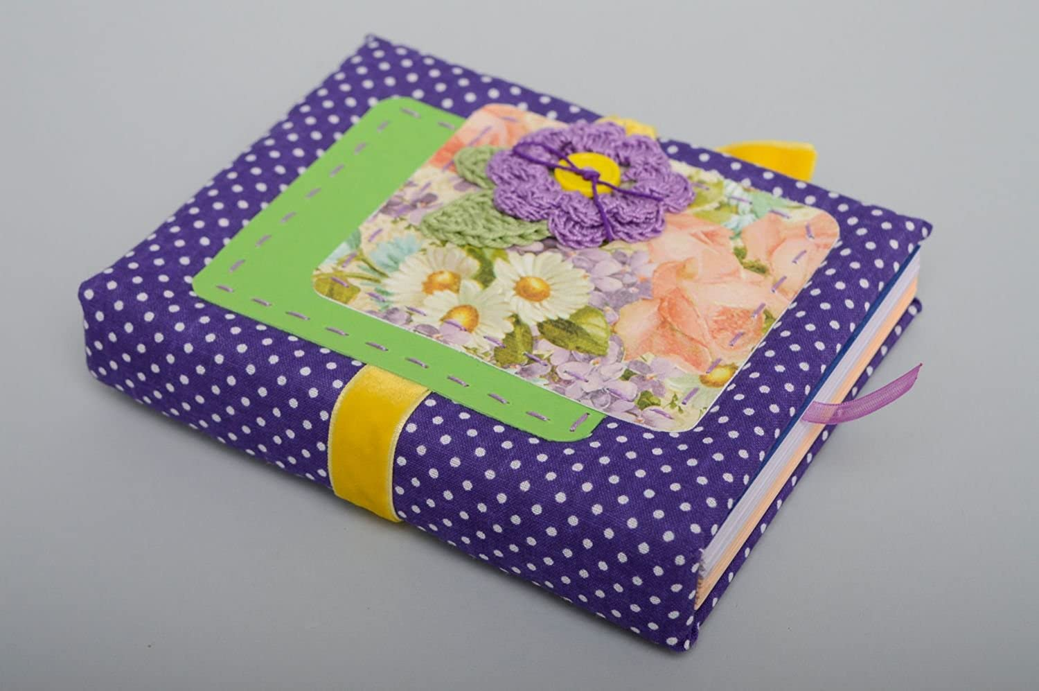 Beautiful Handmade Notebook With Soft Cover