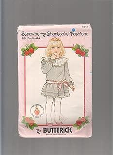 Strawberry Shortcake Sewing Pattern Girls Vintage Size 5,6,6X