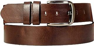 Mode XL Erkek Kemer 4,5cm Fulap Deri 4156 Kahverengi