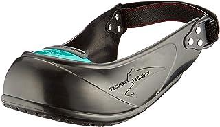 Tiger Grip Visitor Safety Cap Overshoe w/Toe Cap for Safe Visits. Size 5.5-13 (Extra Large (9.5-13))