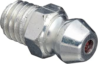 Alemite B2106 Metric Fitting, Metric Packaged Fittings for Display, Each Pack Contains 10 Fittings, Straight, 6 mm x 1 mm (Pitch) Taper, M6 Metric (Pack of 10)