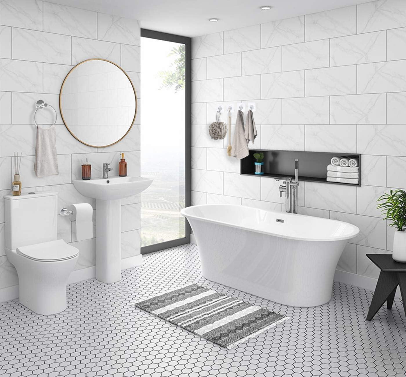 Bathroom Toilet Paper Holder & Towel Holder, Hand Towel Holder for  Bathroom, Chrome Toilet Paper Holder, Bathroom Accessories Set  Chrome