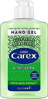 Carex Aloe Vera Anti Bacterial Hand Sanitiser Gel, 300 ml