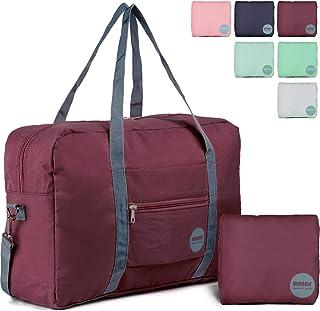 08936b5fb3 Wandf Foldable Travel Duffel Bag Luggage Sports Gym Water Resistant Nylon