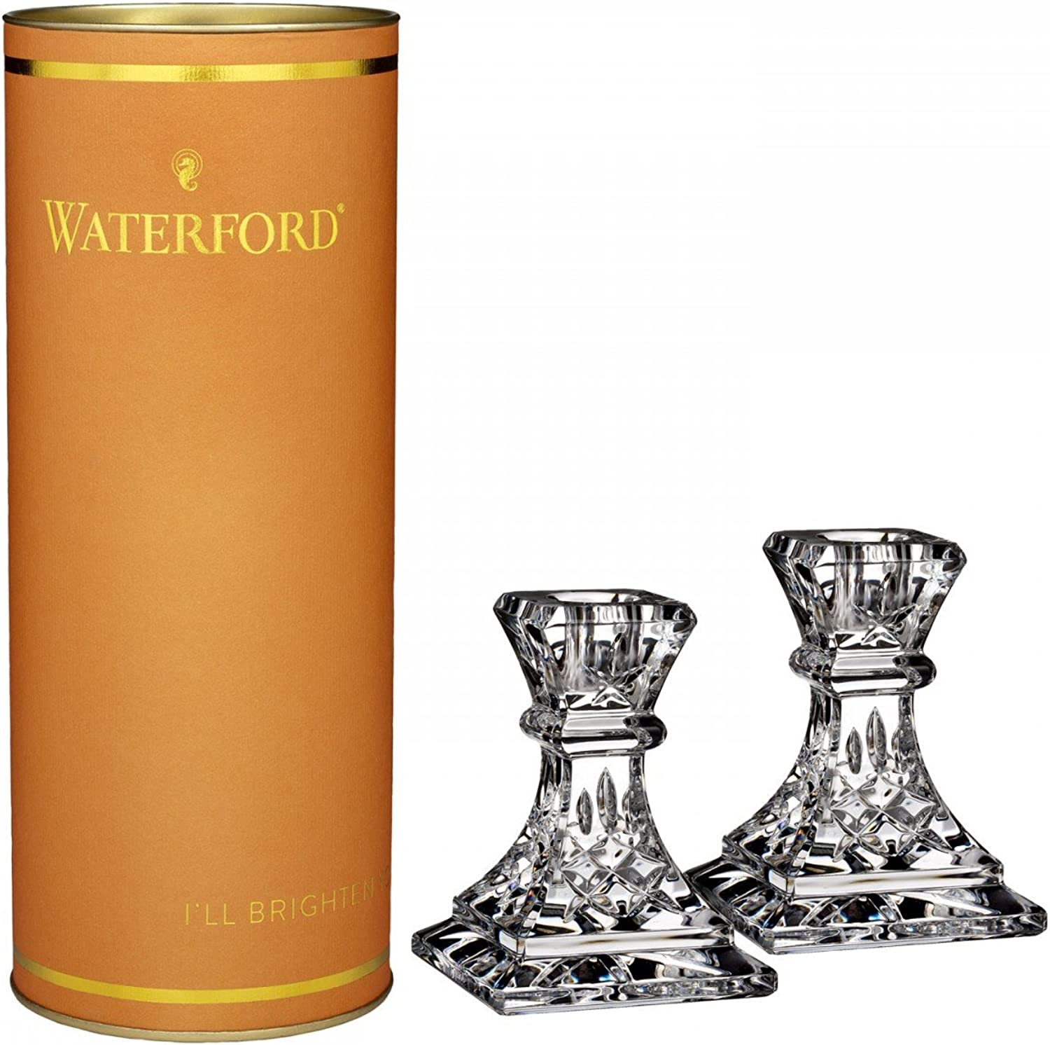 Waterford Lismore Candlestick 4 , Pair