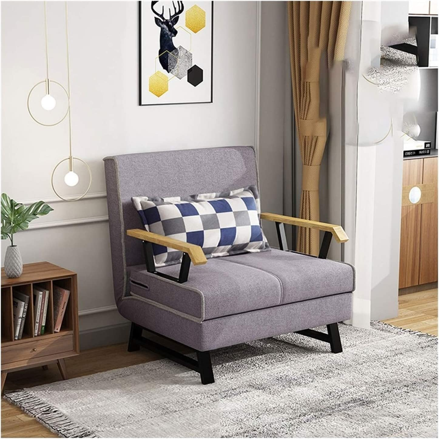 Sofa Bed Convertible Chair Futon Sturdy Couch and Max 48% OFF Durable Large discharge sale