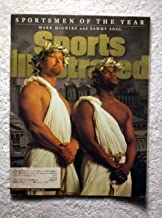Mark McGwire (St Louis Cardinals) & Sammy Sosa (Chicago Cubs) - Sportsmen of the Year - Sports Illustrated - December 21, 1998 - SI