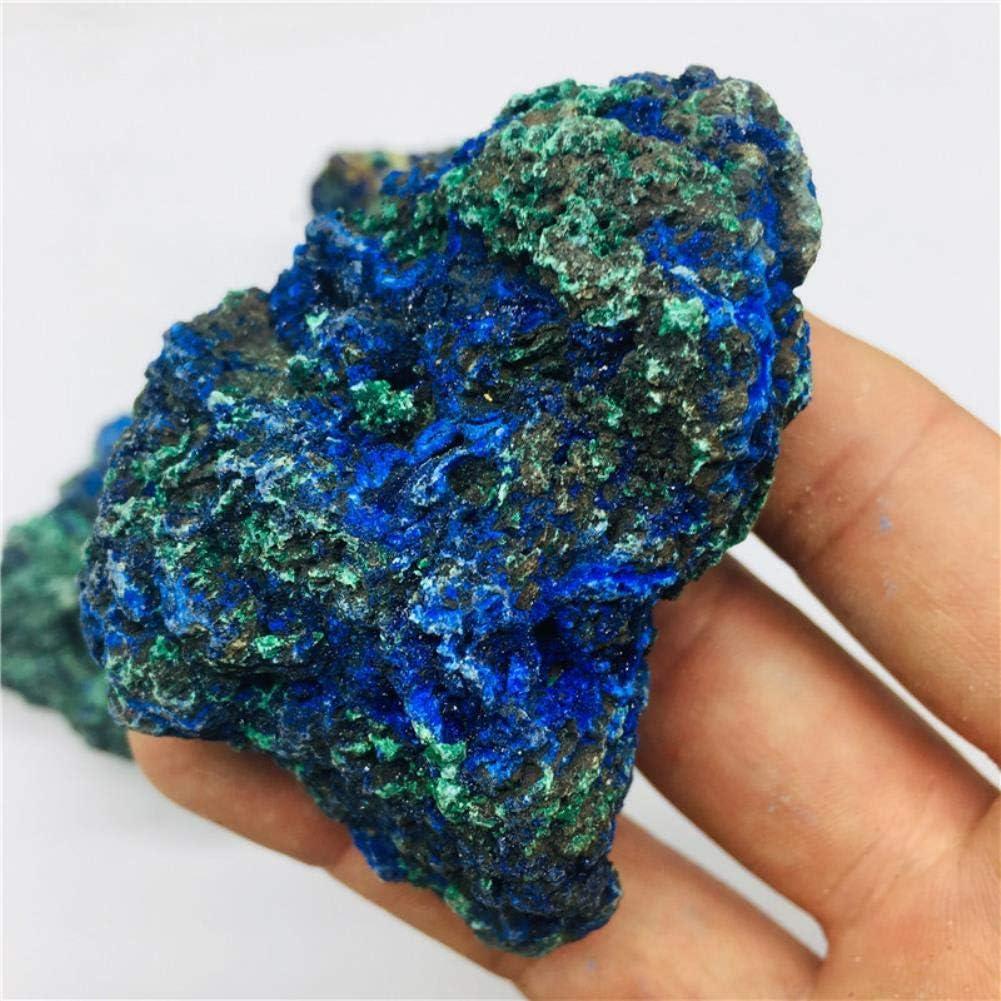 YELVQI Natural Import fine Popular overseas Laotian symbiotic Malachite Azurite Primary