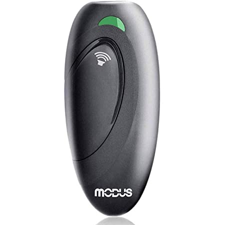 MODUS Ultrasonic Dog Barking Deterrent, 2-in-1 Dog Training and Bark Control Device, Anti-Barking Device, Control Range of 16.4 Ft, Battery Included, LED Indicate, Indoor and Outdoor