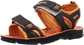 Lucy & Luke by Liberty Boy's Darrell-1 Orange Outdoor Sandals-10 UK (28 EU) (11 Kids US) (2156027122)