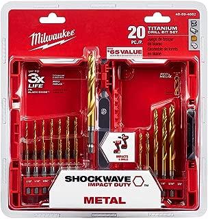 Best milwaukee cobalt red helix drill bit set Reviews