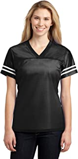 sport tek ladies posicharge replica jersey lst307