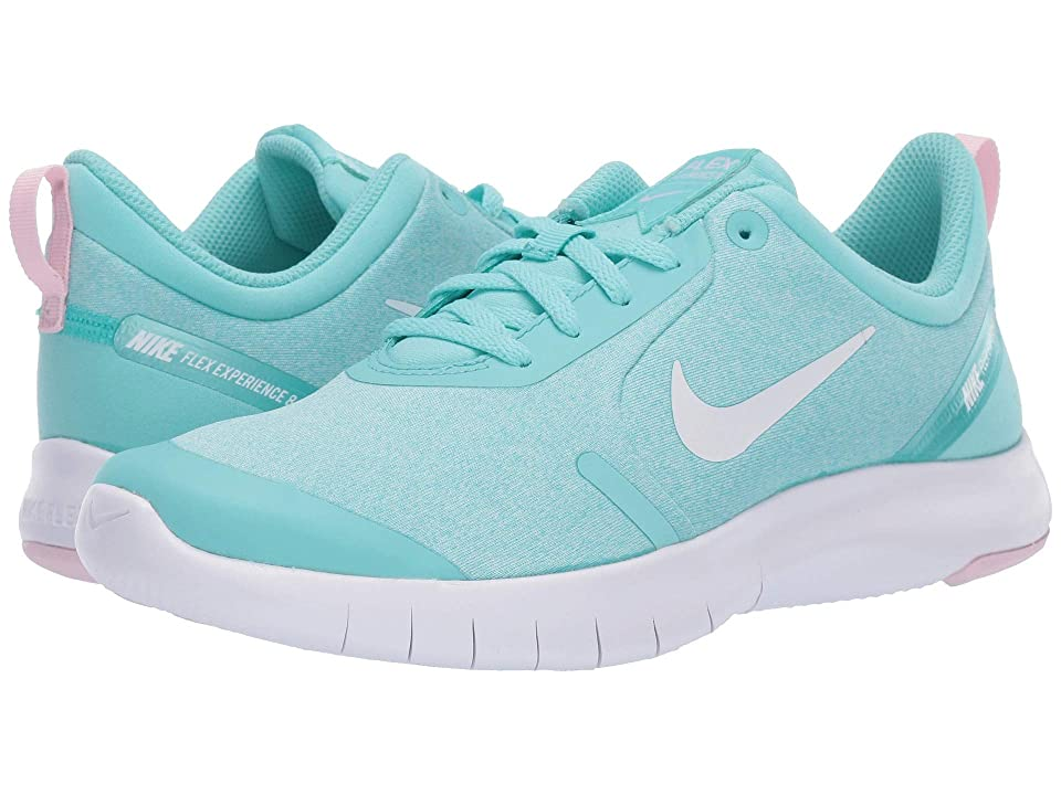 Nike Kids Flex Experience RN 8 (Big Kid) (Light Aqua/White/Pink Foam/Teal Tint) Girls Shoes