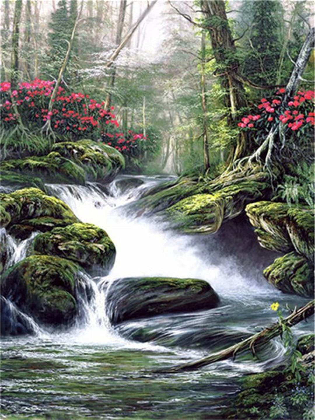 Mstoio 6000 Piece Wooden Jigsaw Large Puzzle Waterfall Finally popular brand Outlet ☆ Free Shipping Puzz
