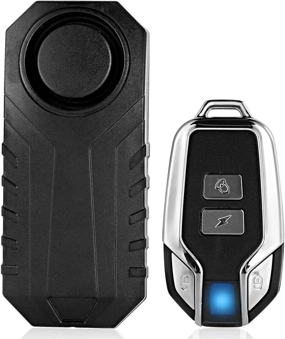 Eurobuy Wireless Vibration Cheap super special price Ranking TOP6 Alarm with Securit Waterproof Remote