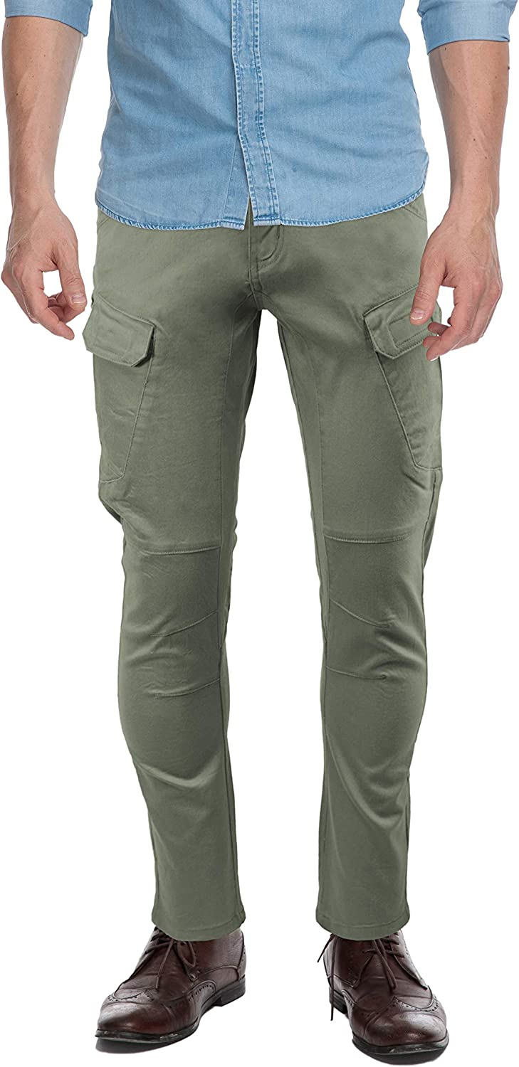 sold out X RAY Men's Slim-Fit Cargo Pants Flex Challenge the lowest price of Japan Casual Tactical Stretch P