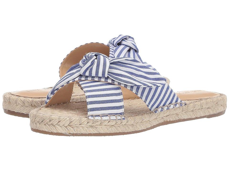 Nine West Brielle Espadrille Flat Sandal (Blue) Women