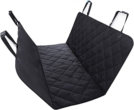 Pet Seat Cover by Ibeston, Nonslip Waterproof Back Seat Dog Seat Cover and Hammock for Car and Trucks