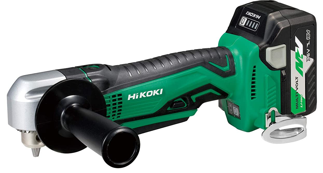 フェードリップ国旗HiKOKI(ハイコーキ) 旧日立工機 コードレスコーナドリル マルチボルトシリーズ DN18DSL(LXPK) 急速充電器?ケース付