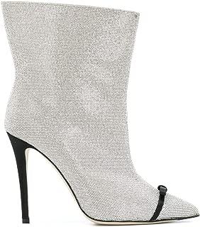 MARCO DE VINCENZO Luxury Fashion Womens MXV108A02UF102F Grey Ankle Boots | Season Permanent
