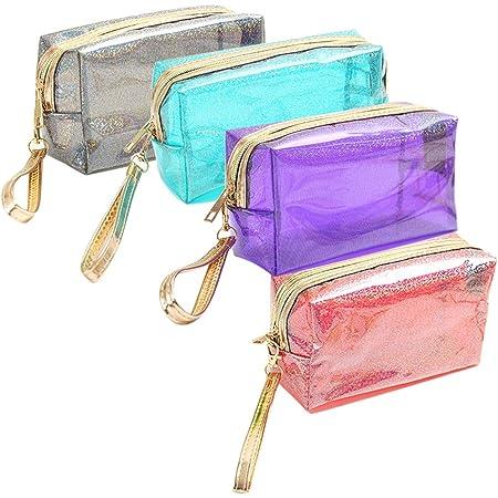 tragbare klare Schminktasche Klare Tasche wasserdichte kosmetische Aufbewahrungstasche transparente PVC-Kosmetiktaschen Reisespeicher