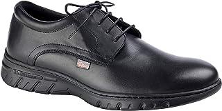 Zapato Unisex Uniformes en Piel Color Negro con Cordones, Marca DIAN - berna-35