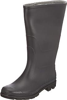Portwest FW90 Stivale PVC Wellington O4 Stivali di gomma da lavoro, Unisex - Adulto, SRC, Nero (Nero Bkgr), 39 EU (6 UK)