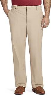 Van Heusen Men's Big and Tall Flex Flat Front Oxford Chino Pant