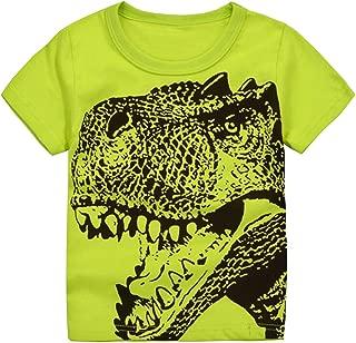 Boys Short Sleeve Crew Neck Tee Kids Graphic T-Shirt 1-6 Toddler