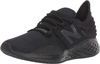 New Balance ROAV Roav Fresh Foam Running Shoes for Kid's, Black, 2 US (Wide)
