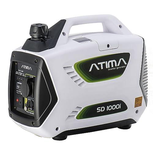 Generador Inverter Portátil de 1kW de 4 Tiempos Portátil Silencioso de Gasolina Atima SD1000i