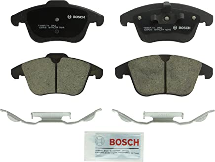 Bosch BC1306 QuietCast Premium Ceramic Disc Brake Pad Set For Select Land Rover LR2, Range Rover Evoque; Volvo S60, S80, V60, V70, XC70; Front