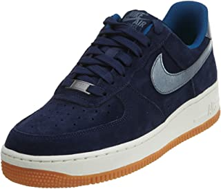 navy blue suede air force 1