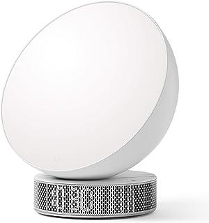 Lexon Miami Sunrise Réveil luminothérapie Blanc/marbre blanc