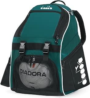 Diadora Squadra II Soccer Backpack, Forest/Black