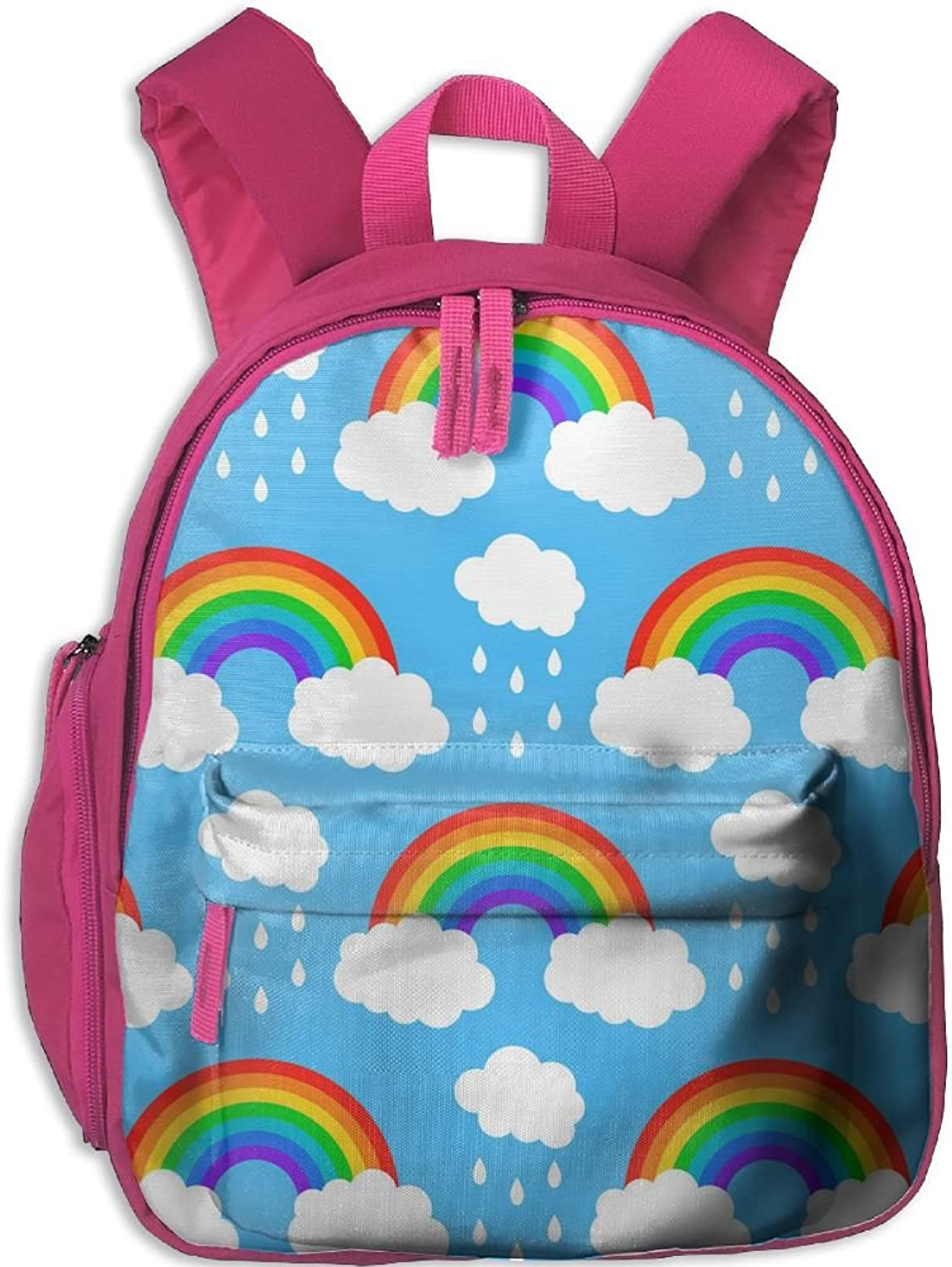 Pinta Gay Rainbow Cub Cool School Book Bag Backpacks for Girl's Boy's