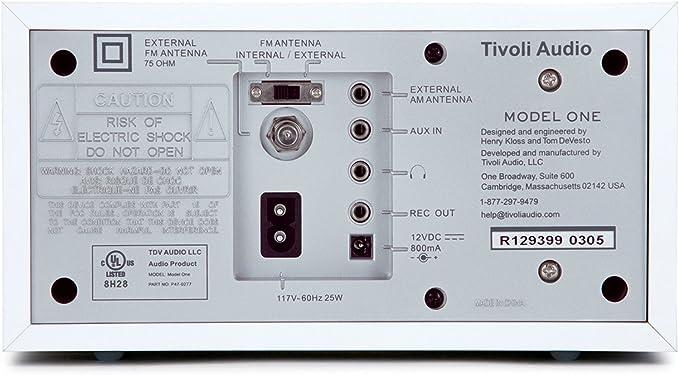 Tivoli Model One Ukw Mw Tisch Radio In Schwarz Schwarz Heimkino Tv Video