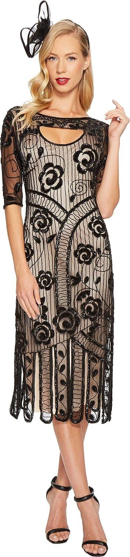 Unique Vintage Womens Avalon Flapper Dress