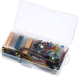 830 Breadd Set Electronics Component Starter DIY Kit with Plastic Box Compatible with R3 Component Package