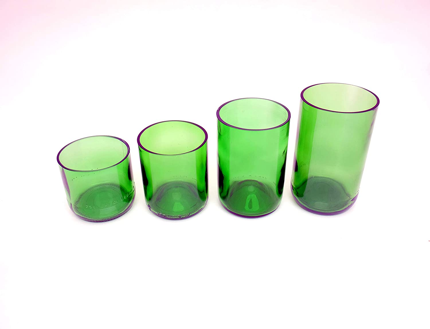 REPURPOSED Sale special price GREEN EVERYDAY WATER TUMBLERS WINE MADE GLASSES Max 54% OFF FROM