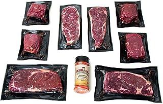 Nebraska Star Beef Premium Angus Steak Sampler Gift Package