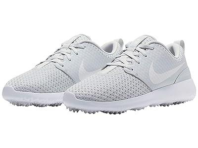 Nike Golf Roshe G (Pure Platinum/Metallic White/White) Women
