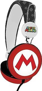 OTL Technologies – Auriculares de Diadema para niños Super Mario Icon Core (Banda..